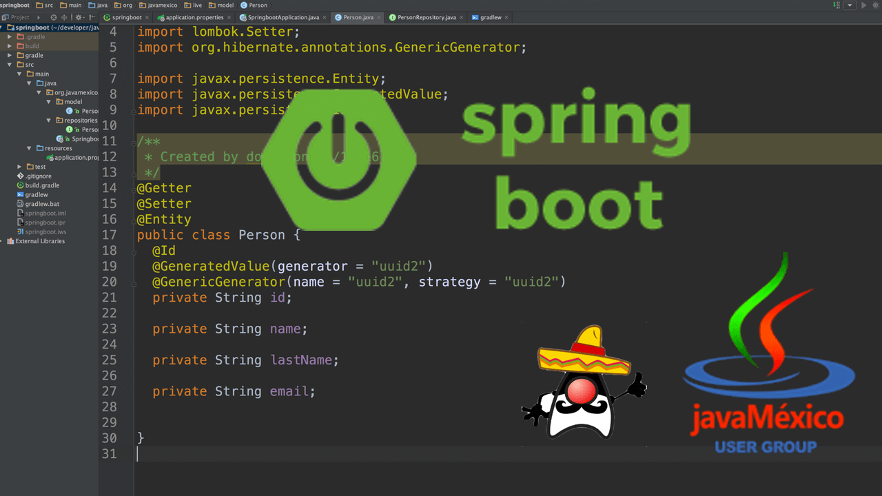 Live Coding con Spring Boot